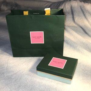 Kate spade bag and box!